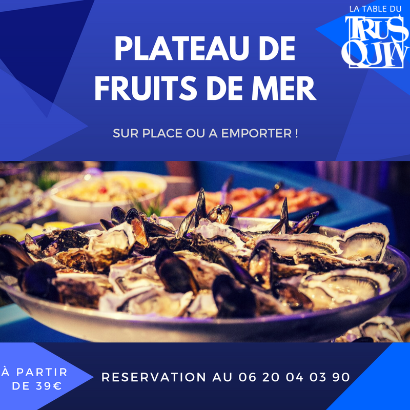 COMMANDEZVOTRE PLATEAUDE FRUITS DE MER 8
